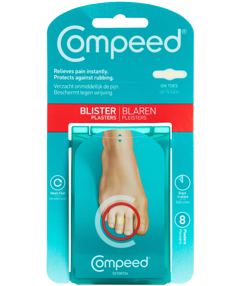COMPEED® Blister Plasters (For Toes)